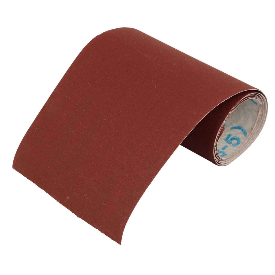 1M Length Dark Brown Nylon Abrasive 320 Grit Sanding Belt Sandpaper Sand Sheet