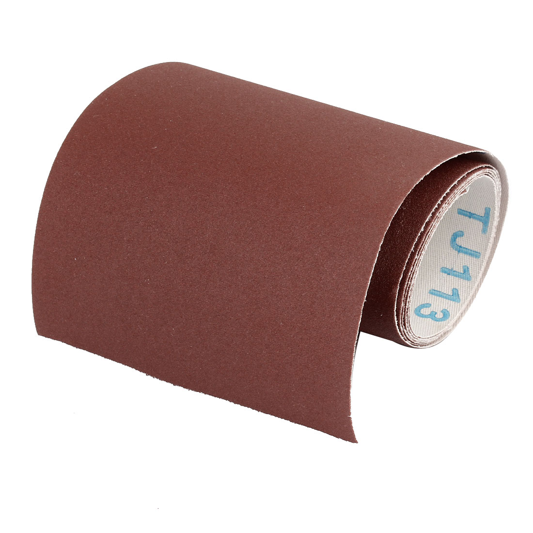 100cm Length Dark Brown Nylon Abrasive 240 Grit Sanding Belt Sandpaper Sand Sheet