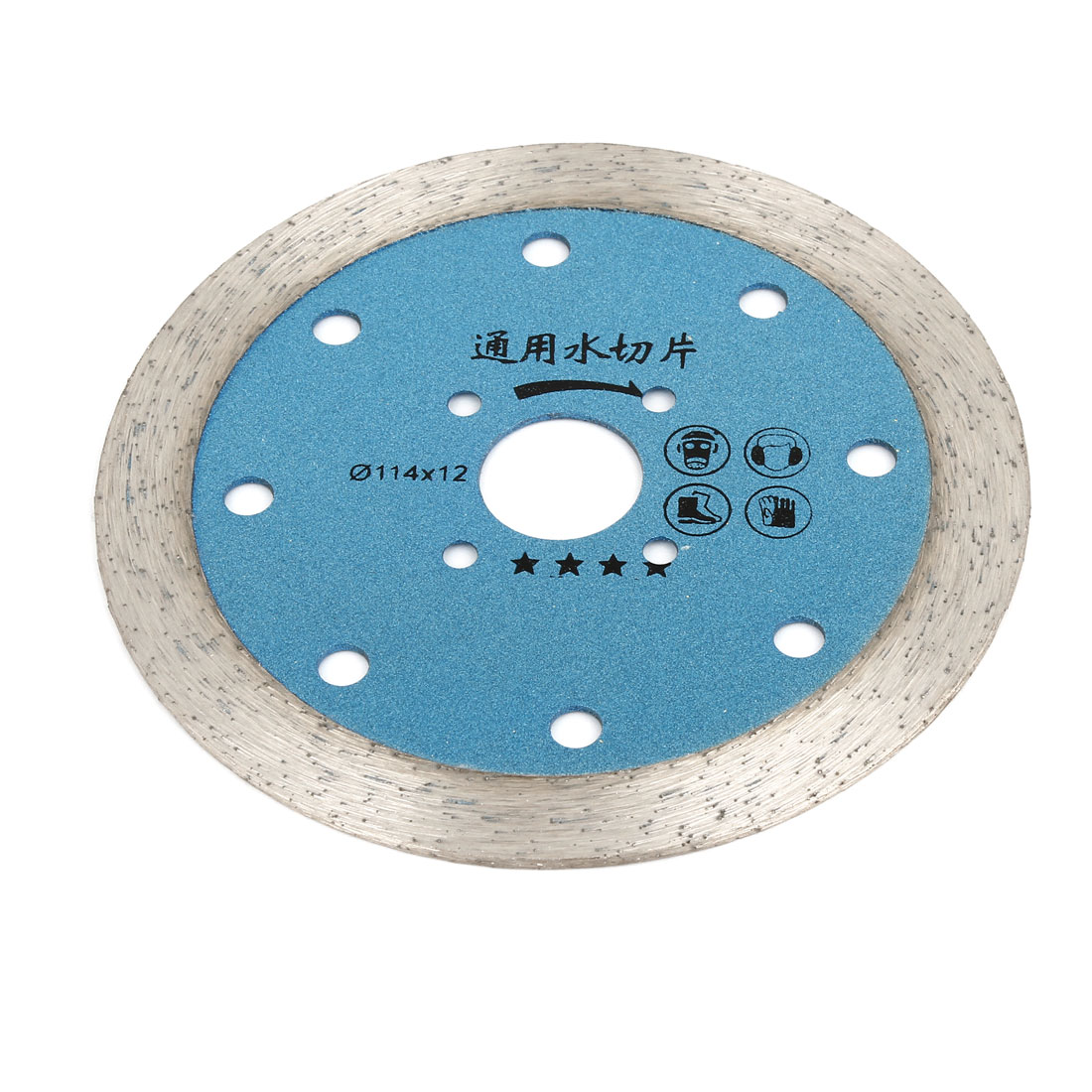 114mm Outside Dia Double Side Glass Diamond Saw Cutter Cutting Disc for Bosch