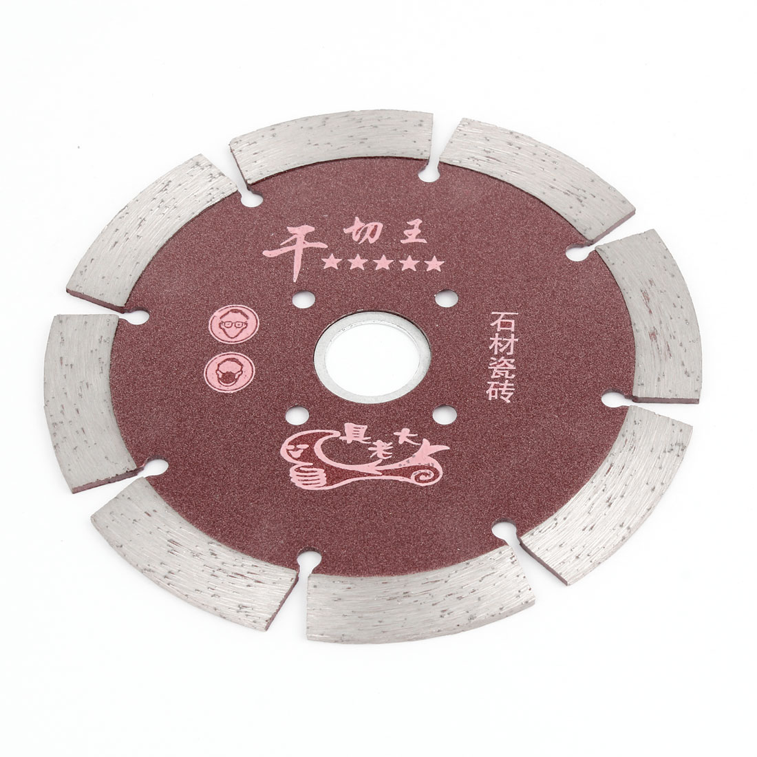 2mm Thickness Dia Double Side Glass Diamond Saw Cutter Cutting Disc