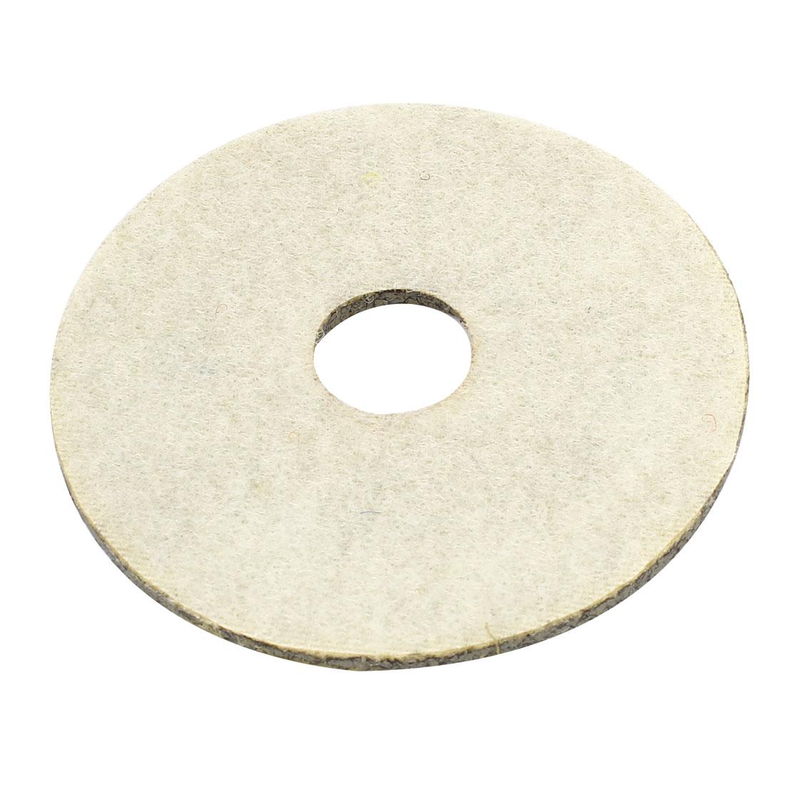 "Grit 50 3"" Dia Tile Stone Polisher Grinder Diamond Polishing Pad White"