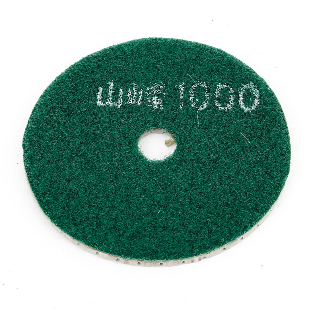 "Green Gray Grit 100 3"" Diameter Tile Stone Polisher Grinder Marble Polishing Pad"
