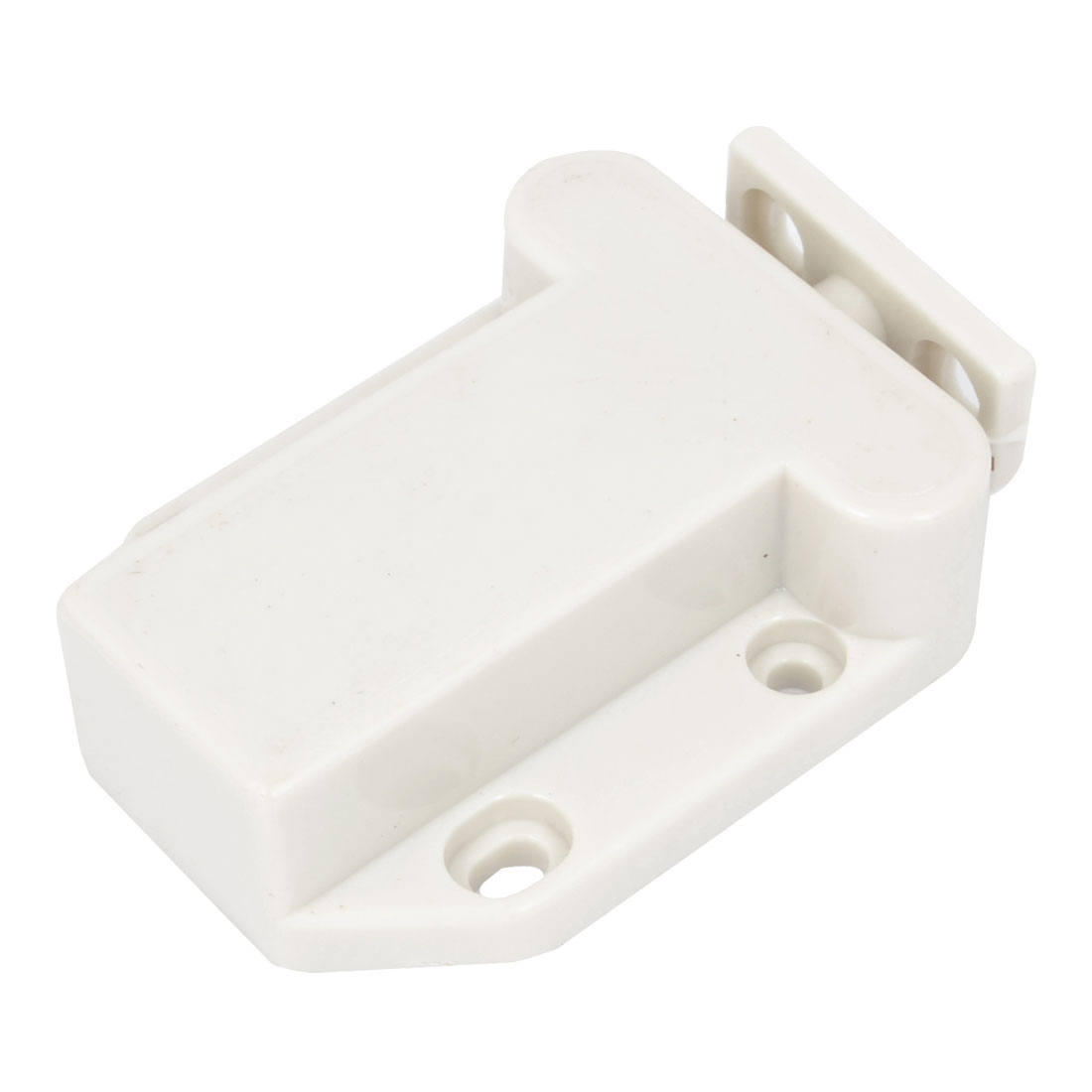 Household Cupboard Furniture Door Catch Latch White 4.3cm Width
