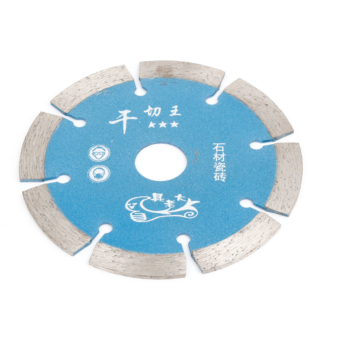 110mm Outside Dia Double Side Glass Diamond Saw Cutter Cutting Disc