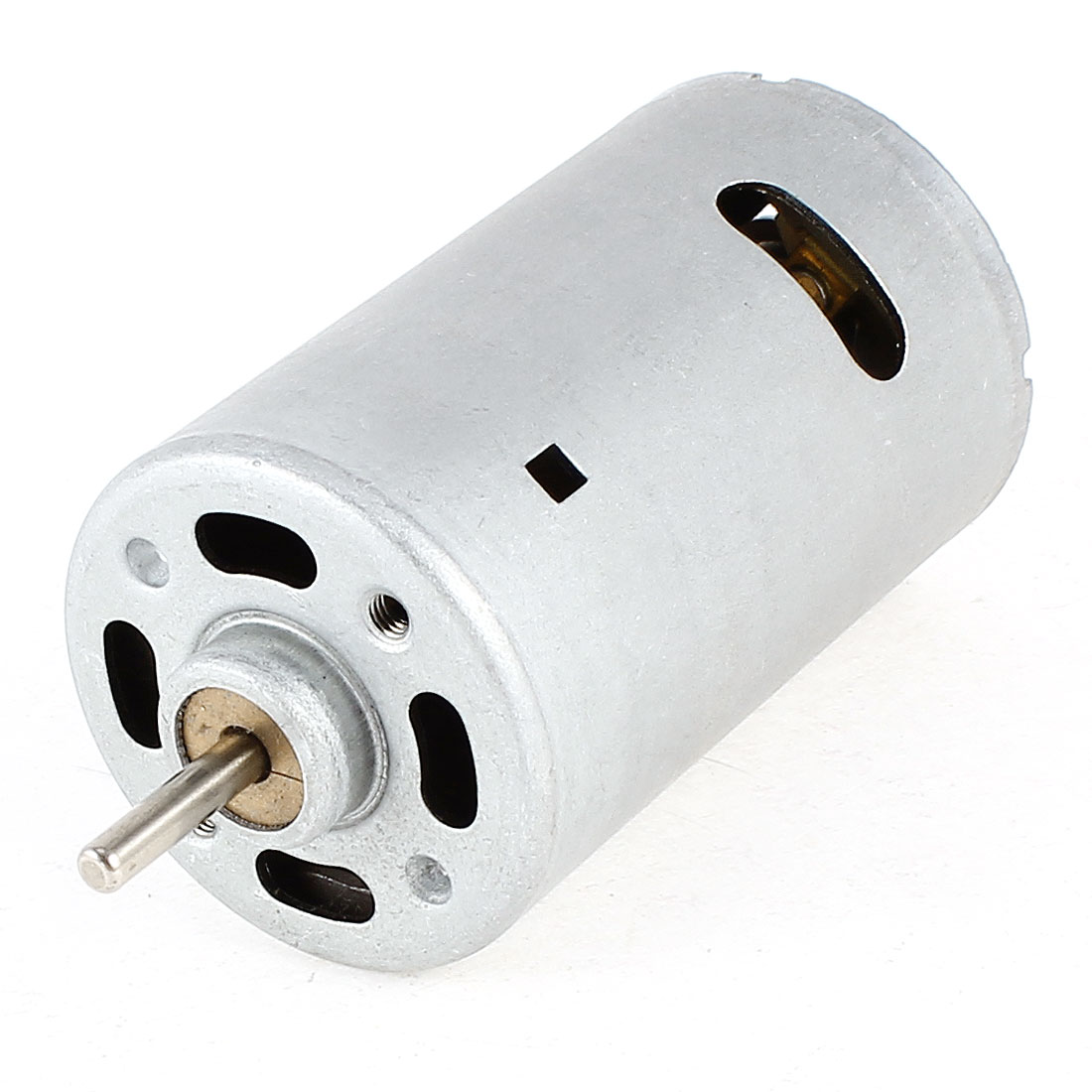 Silver Tone 6-12V 8000-13000RPM Axle High Speed DC Motor for Toy Robot