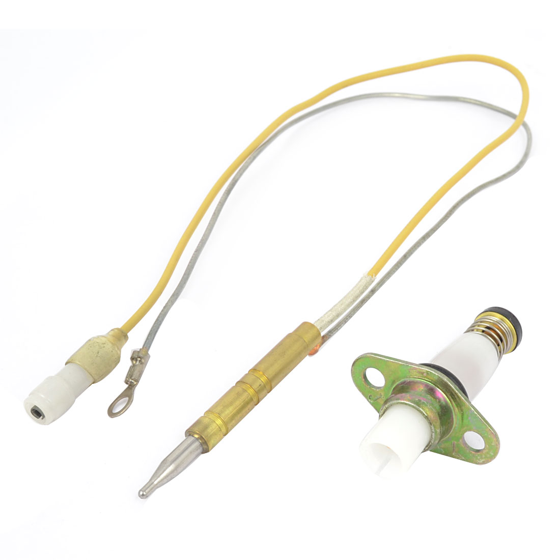 Home Kitchen Gas Cooker 350mm Length Thermocouple Solenoid Valve Set