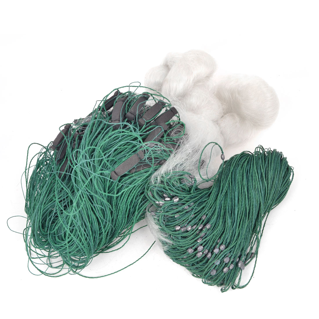 Monofilament 3cm Hole Fishing Gear Fish Gill Net 85M x 3Meters