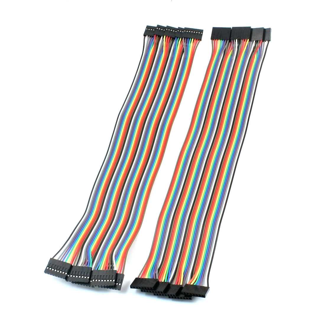 10pcs 8P-8P Female to Female Breadboard Connect Test Jumper Cable Wire 30cm