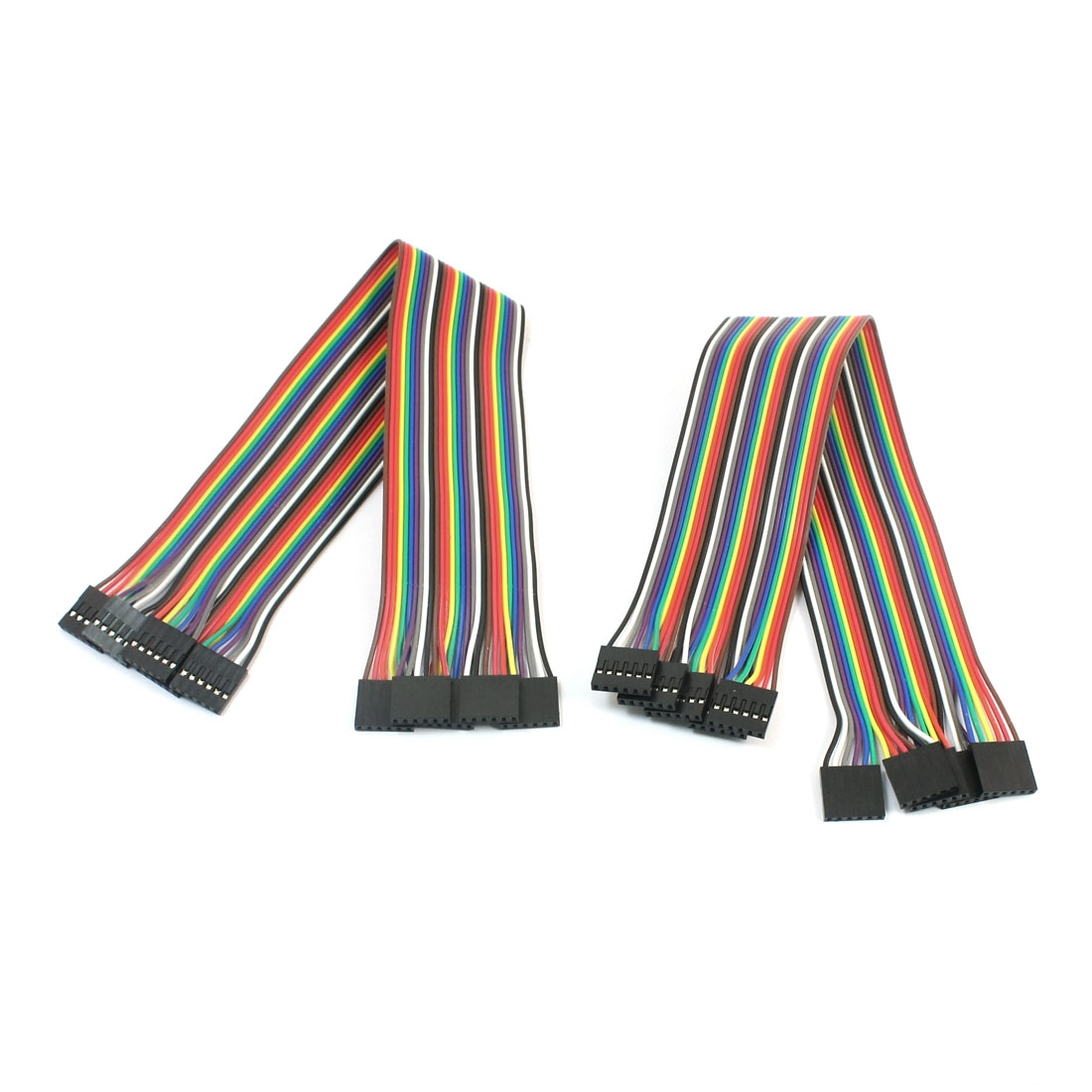 10pcs 6P-6P Female to Female Breadboard Connect Test Jumper Cable Wire 30cm