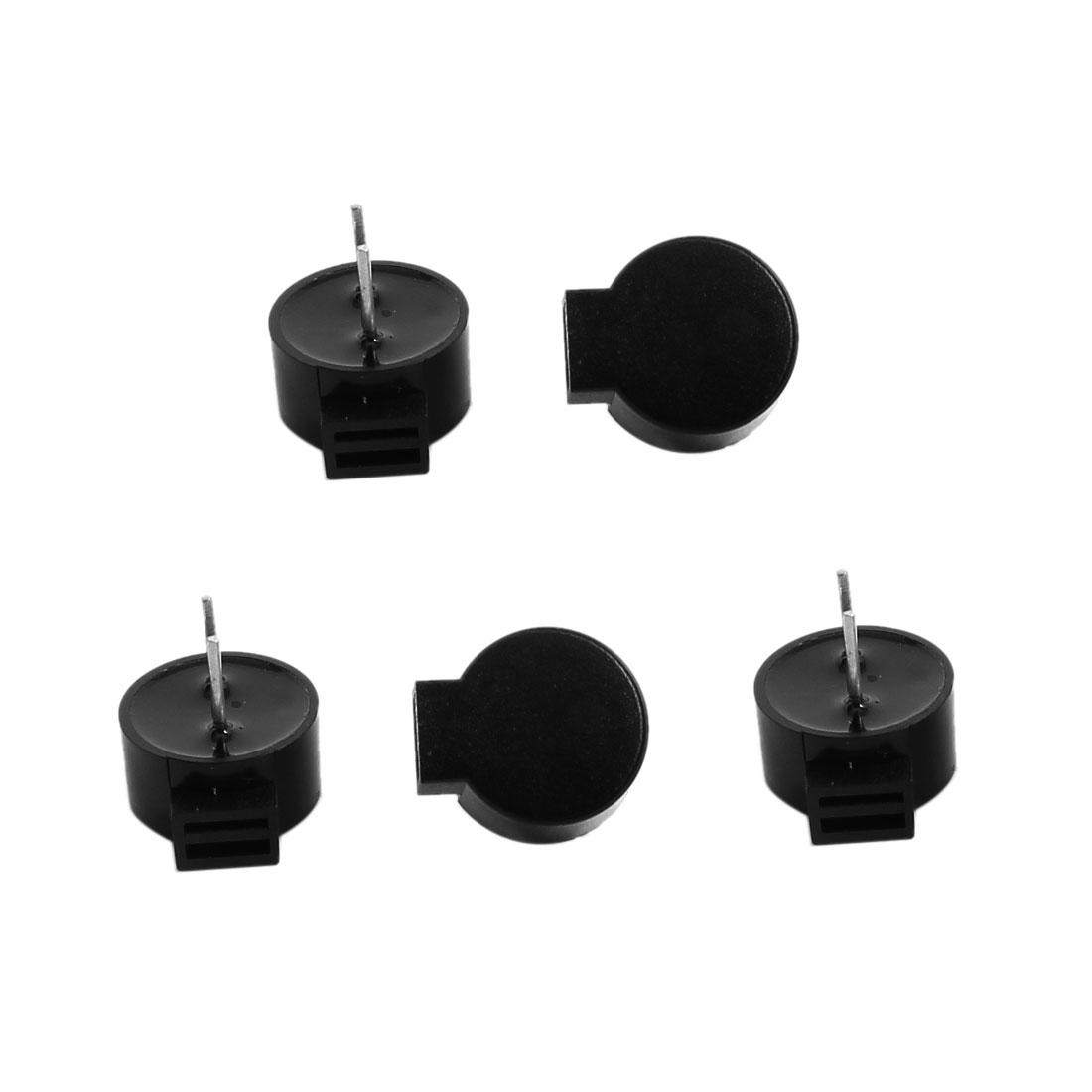 5 Pcs DC 3/5V 60mA Passive Electronic Continuous Sound Buzzer 11x9.5x5mm