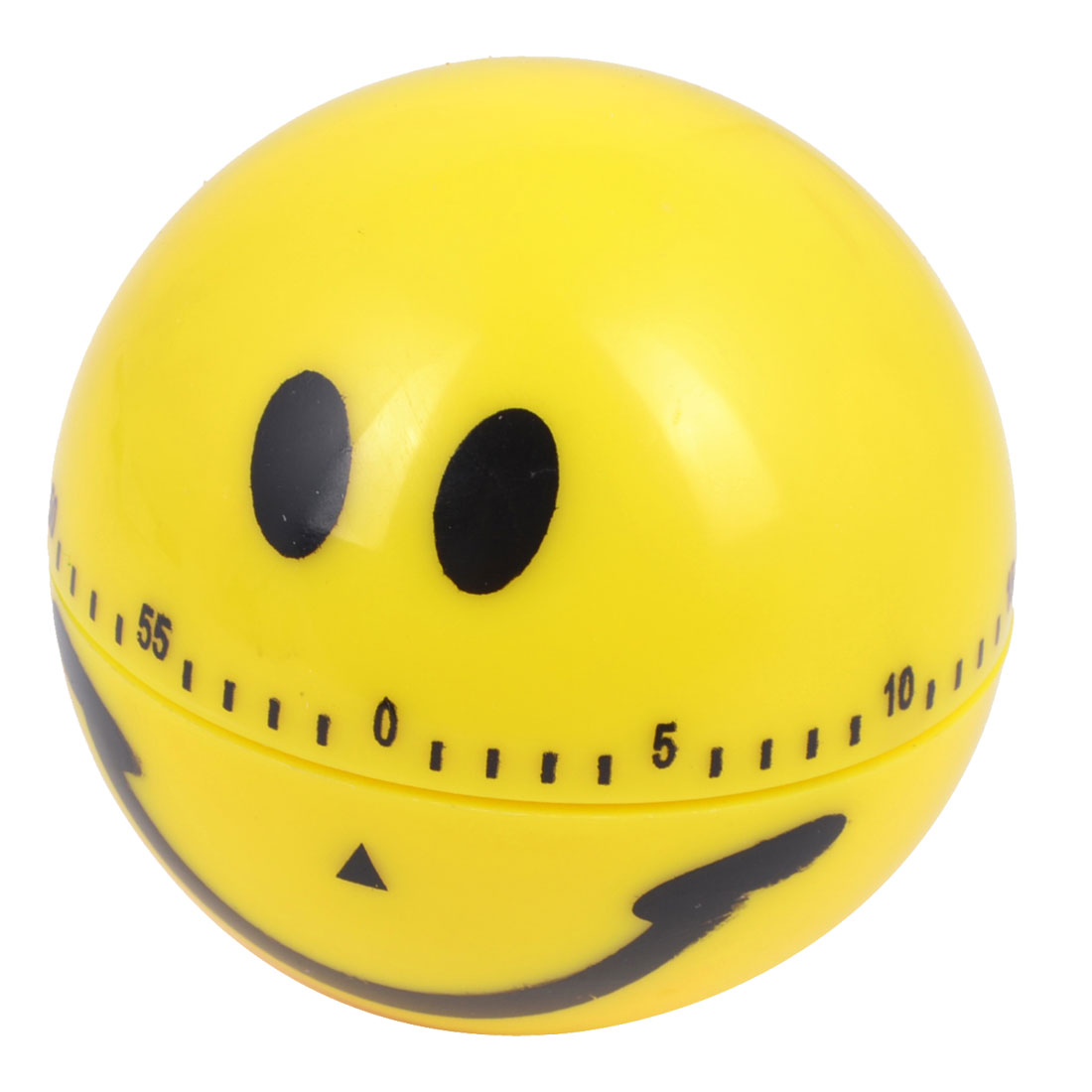Kitchen Smile Face Design 60 Minute Count Down Clock Alarm Reminder Timer Yellow