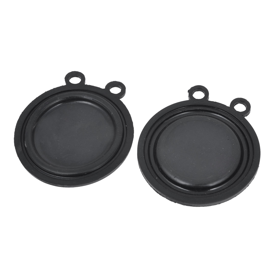 "2.2"" Diameter Flexible Rubber Water Heater Diaphragms Washer Seal 2 Pcs"