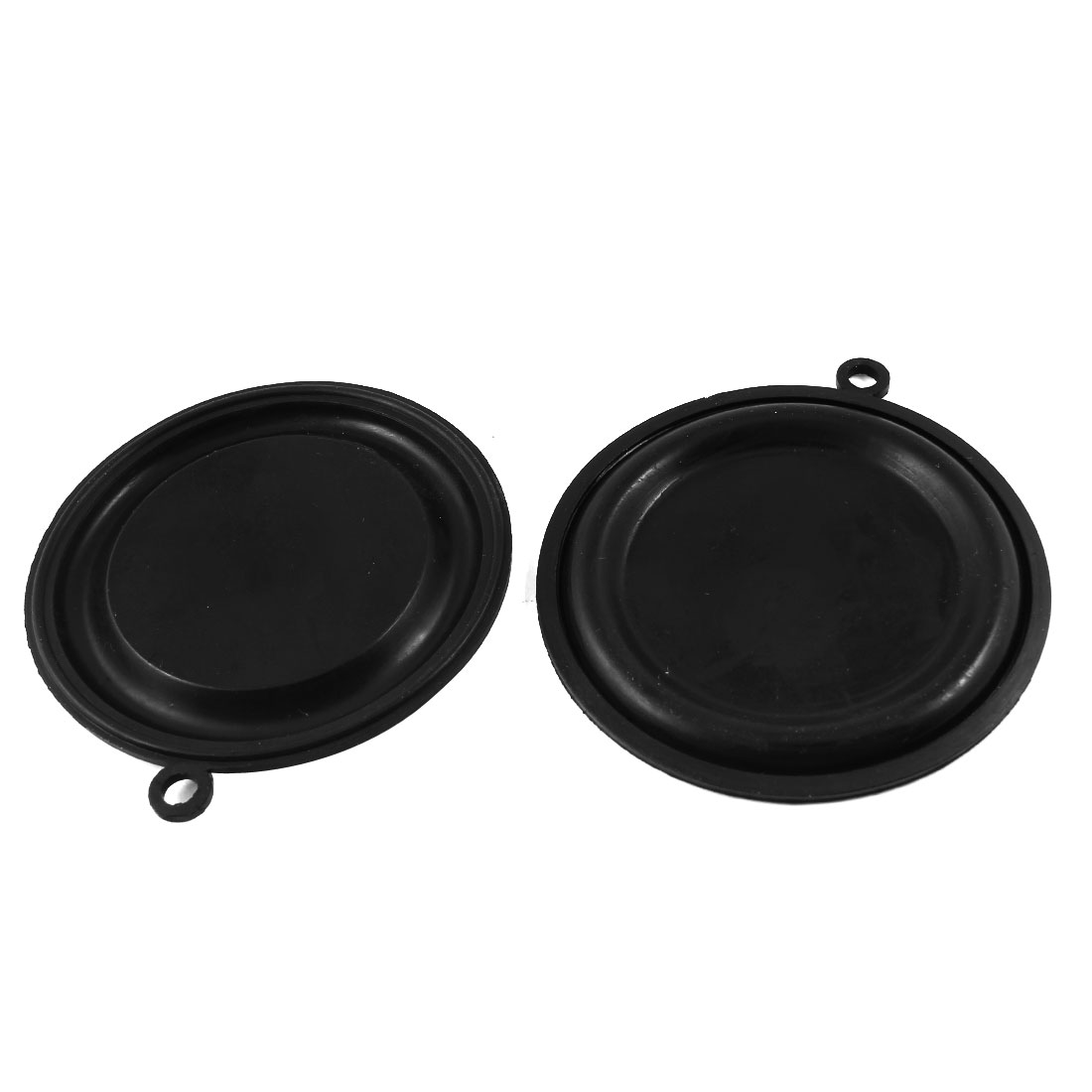 Black Water Heater Rubber Diaphragms Seal Gasket 77mm Diameter 2pcs