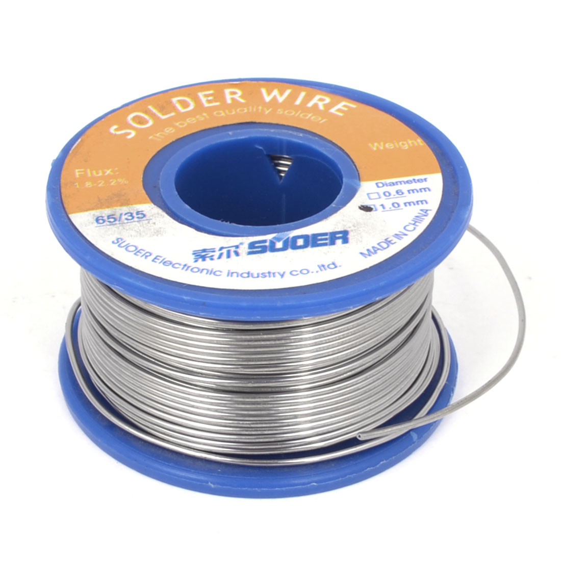 1mm 200g 65/35 Tin Lead Solder 1.8-2.2% Flux Wire Soldering Welding Reel Spool