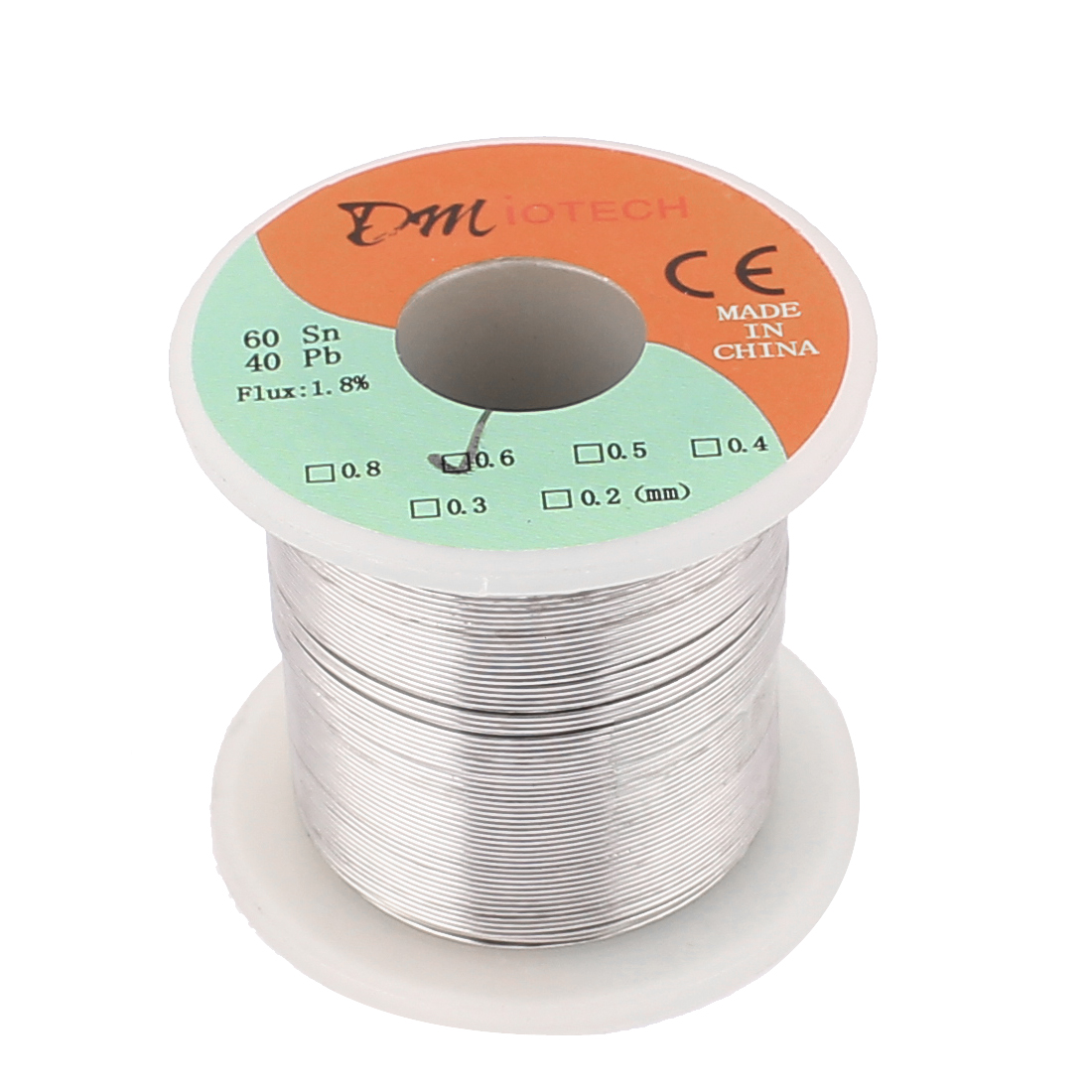 DMiotech 0.6mm 200g 60/40 Tin Lead Roll Solder Soldering Wire Spool Reel
