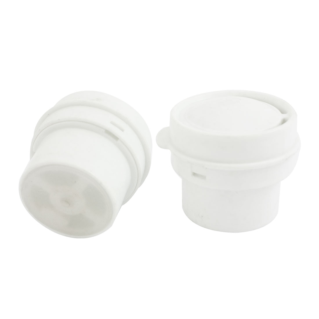 Rice Cooker 41mm Diameter Anti Spill Steam Valve Vent White 2 Pieces