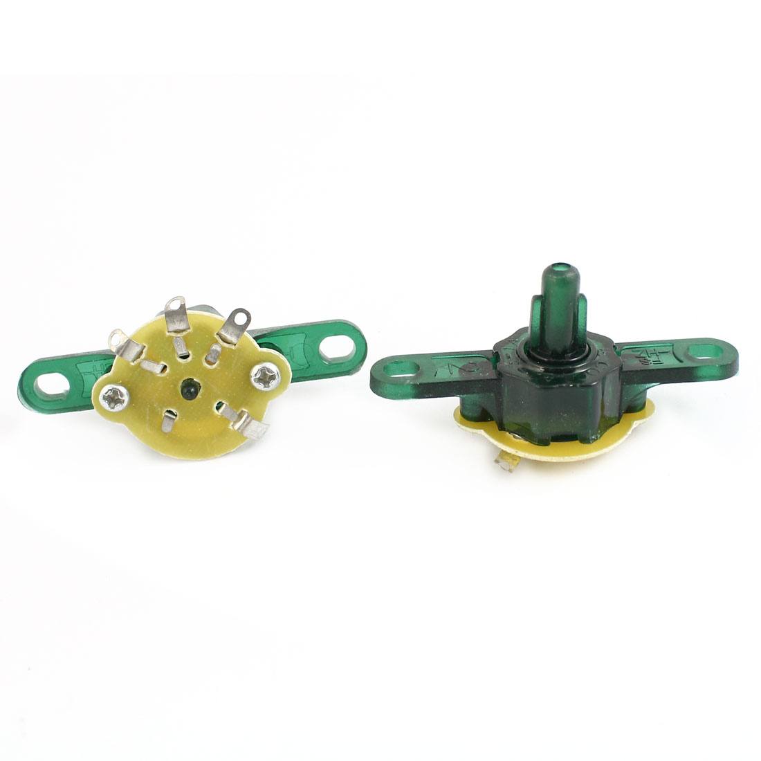 AC 250V 1A 3-Way Electric Fan Fitting Speed Control Switch 2 Pcs