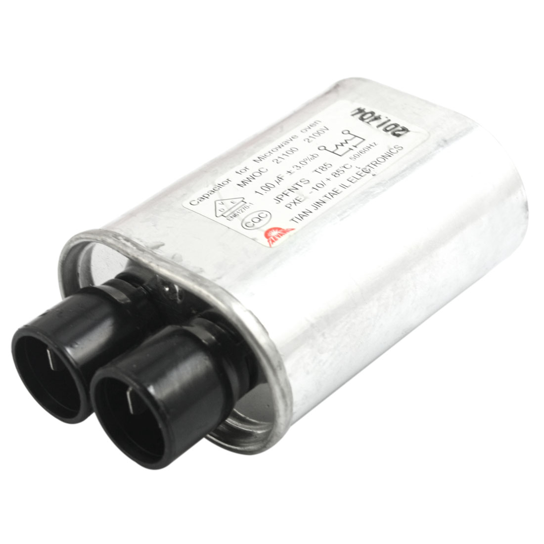 AC 2100V 1.0uF 3%b 50/60Hz Cylindrical High Voltage Microwave Oven Capacitor