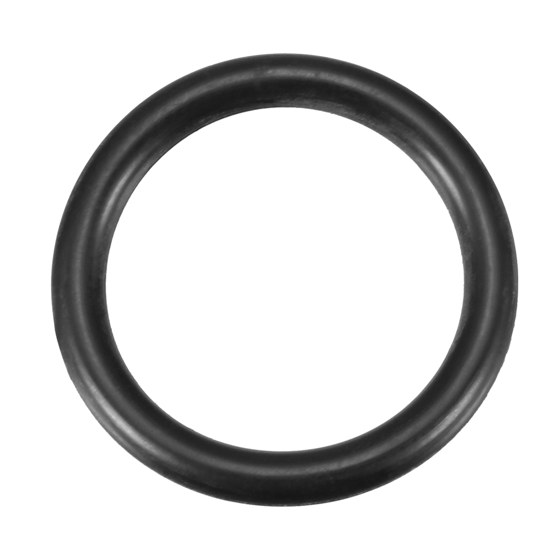 5 Pcs Black Rubber 25mm x 19mm Oil Seal O Rings Gaskets Washers
