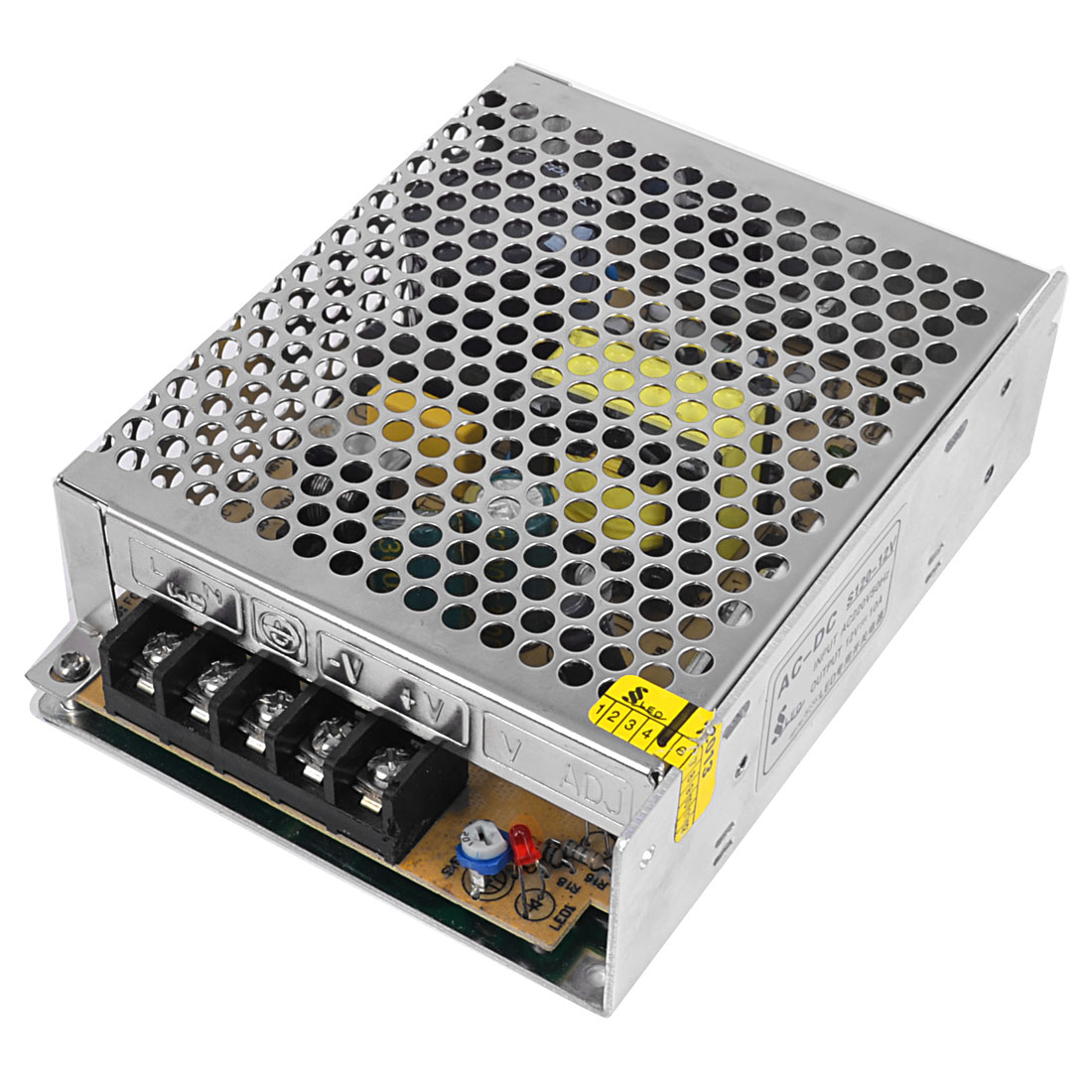 S-120 Aluminium Shell LED Switching Power Supply AC220V DC12V 10A