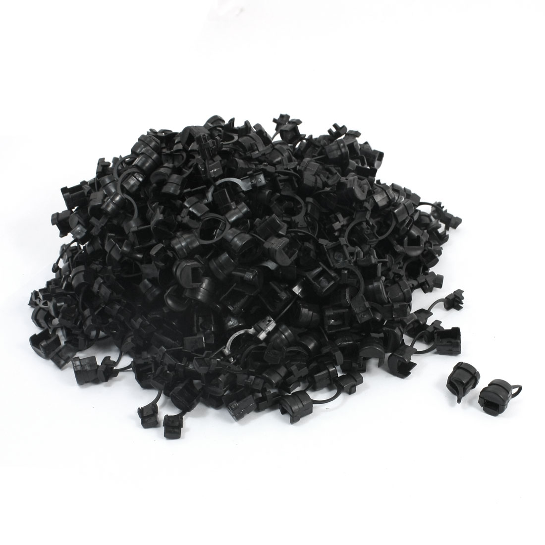 500 Pcs Wires Protectors Strain Relief Bushing for 5mm Width Flat Cables
