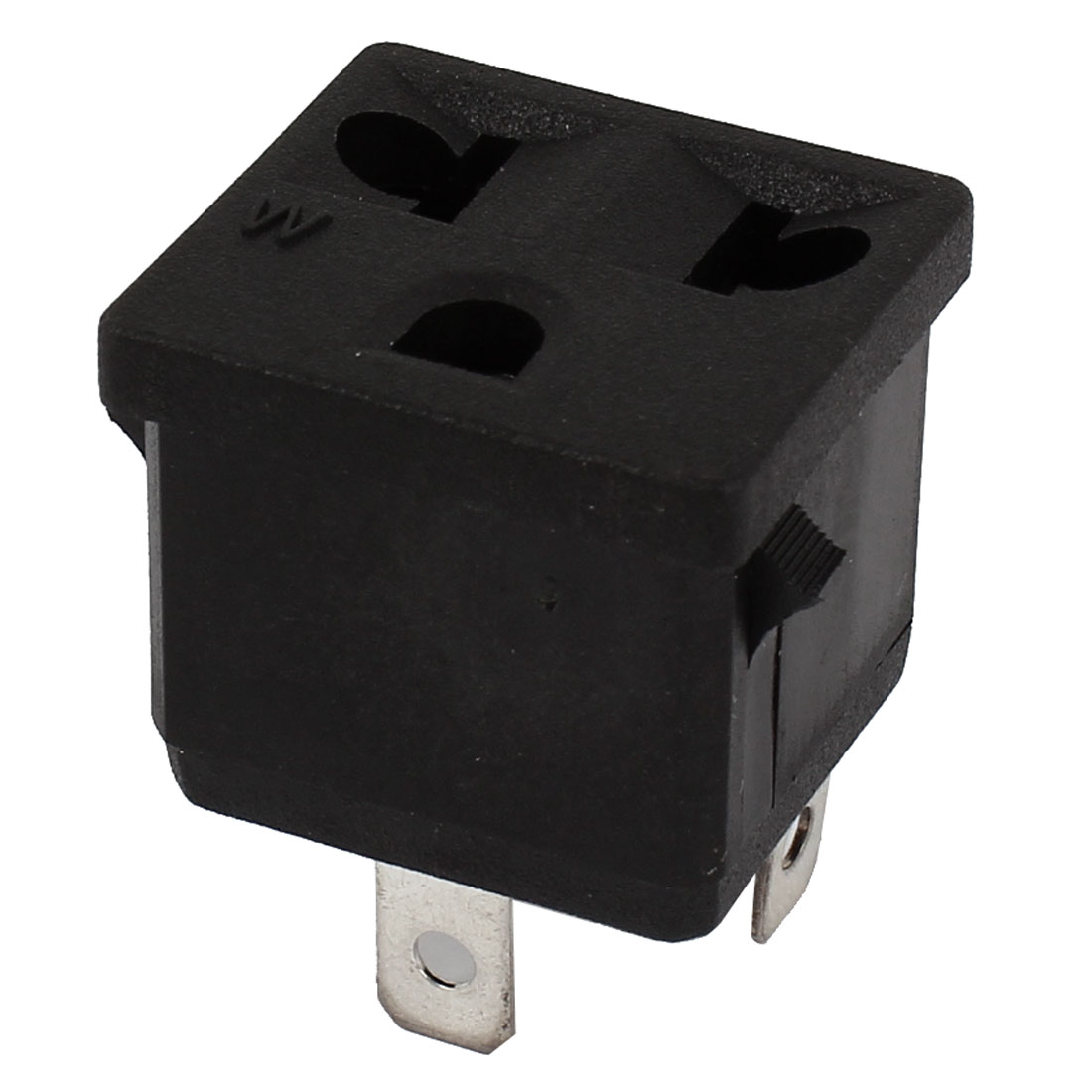 AC 125V/15A 250V/10A Female Power Socket for 3Pin US EU Plug