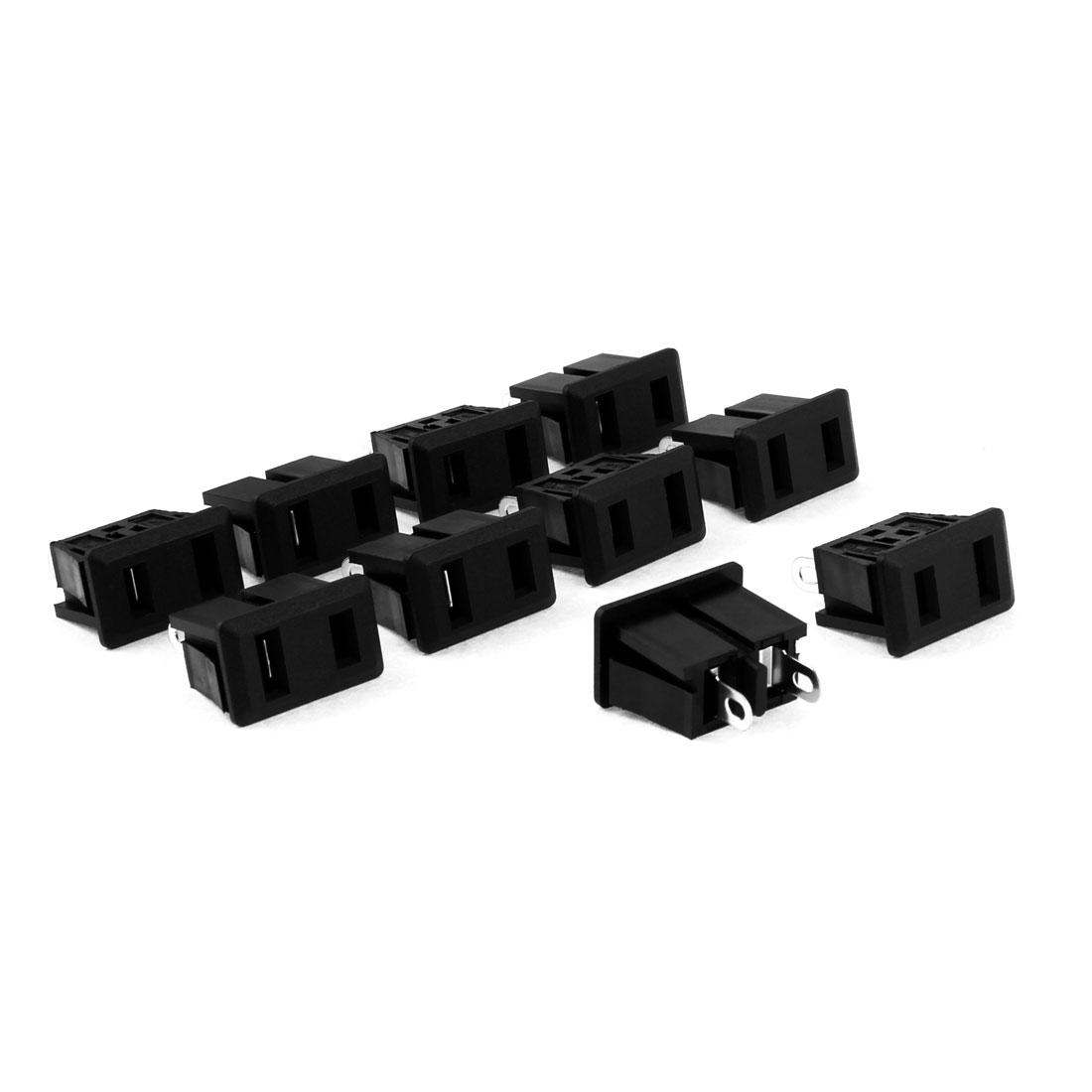 AC 125V 15A Solder Type US Female Socket Jack Power Adapter Converter 10 Pcs