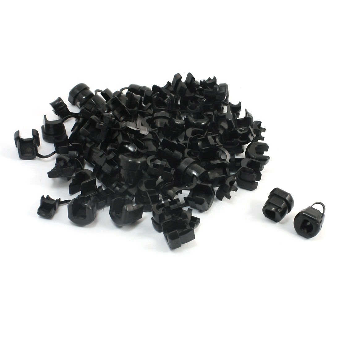 50 Pcs Wires Protectors Strain Relief Bushing for 9.2-10.5mm Round Cables