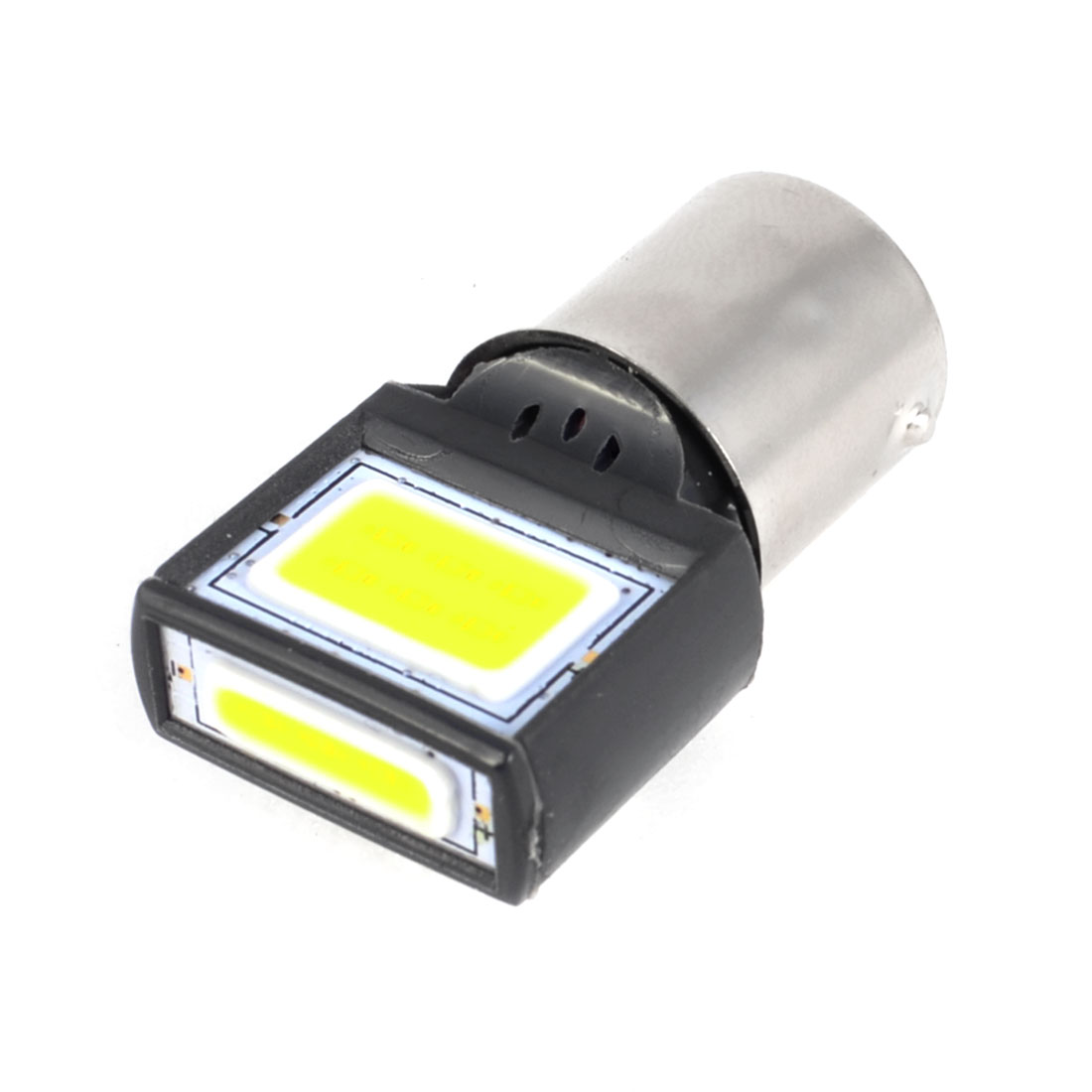 1156 P21W S25 White 8W COB LED Interior Parking Backup Bulb Light Lamp