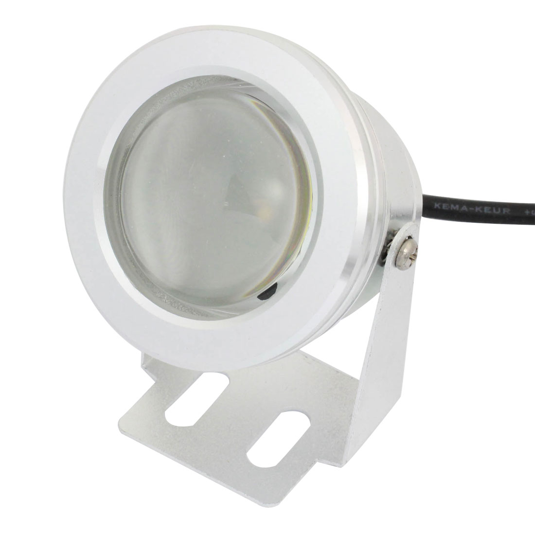Silver Tone Shell White COB LED Spotlight Fog Lamp Light 10W for Bike Car Bicycles Boat
