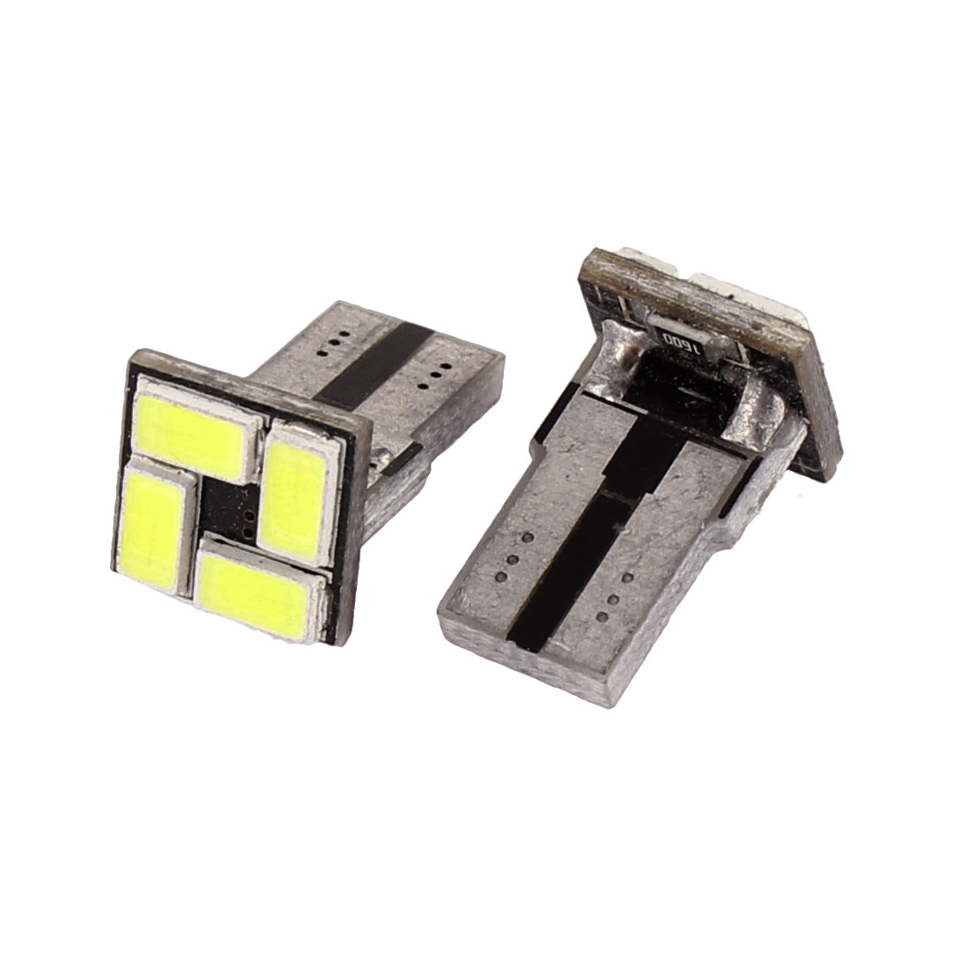 2 Pcs Car T10 W5W 5630 SMD 4 LEDs White Turning Signal Light Lamp internal