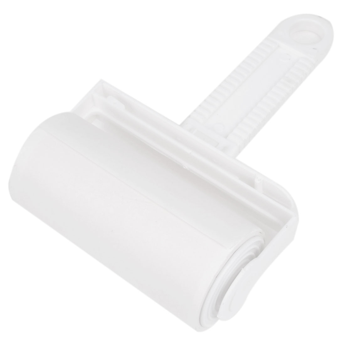 White Clear Plastic Manual Dust Removing Tool Anti-static Sticky Roller