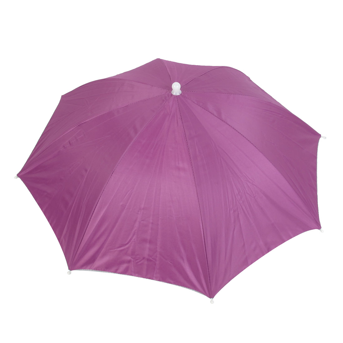 Beach Sun Shine Stormy Sports Fishing Storage Umbrella Hat Cap Fuchsia