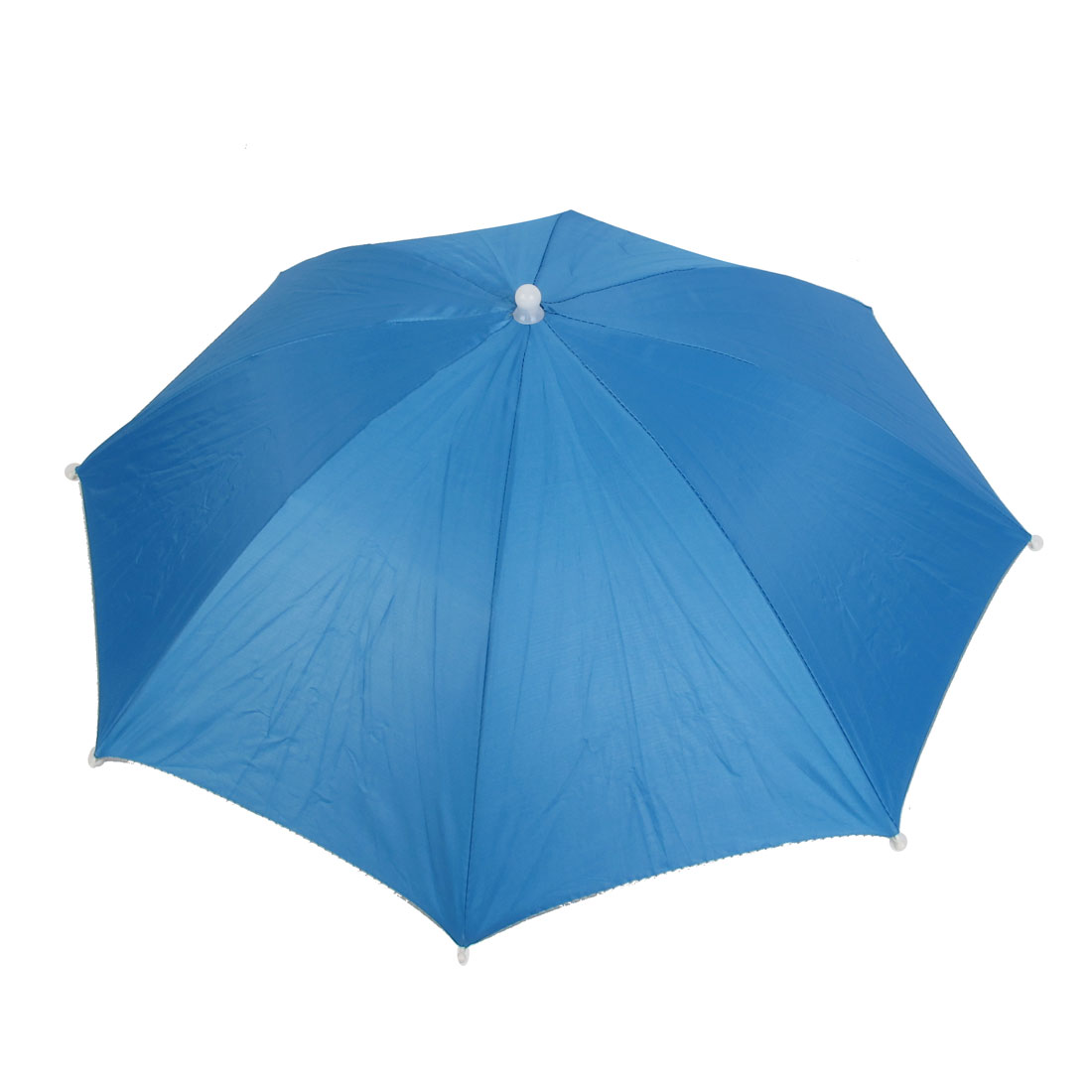 Beach Sun Shine Stormy Sports Fishing Storage Umbrella Hat Cap Blue
