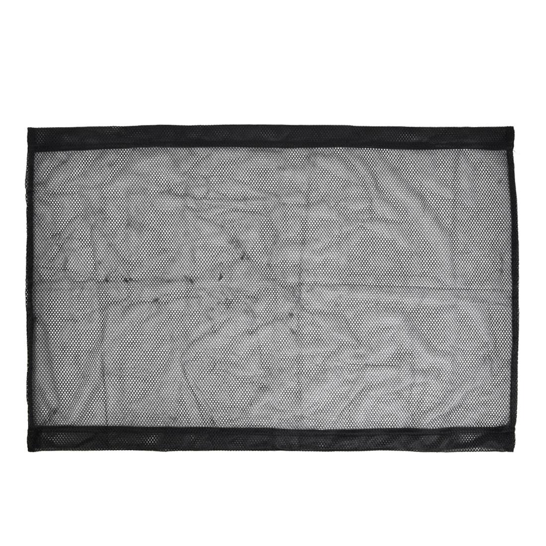 Black Retractable Meshy Rear Side Window Sun Shade 78 x 52cm