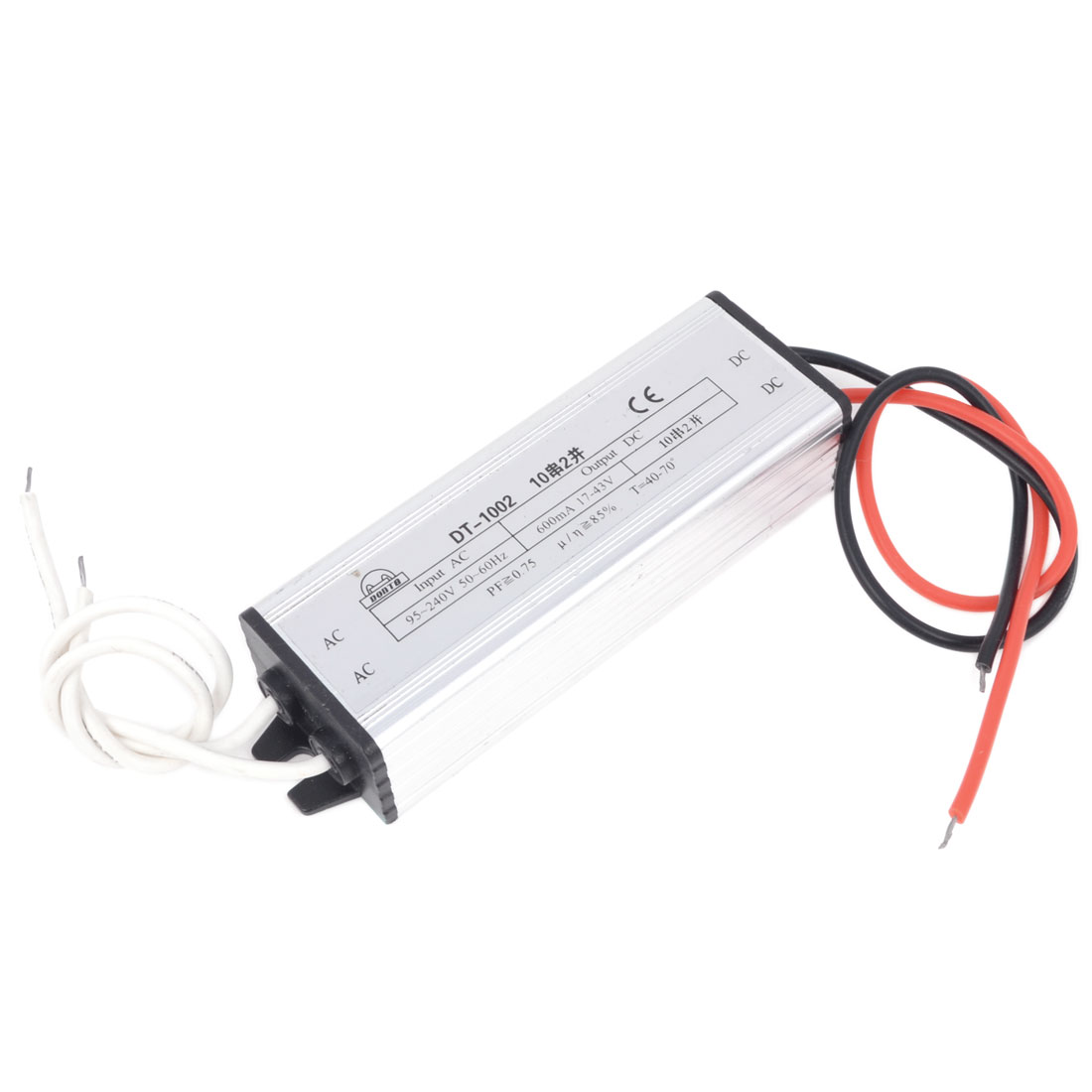 DC 17-43V 600mA 20W Aluminum Waterproof LED Driver Transformer Power Supply