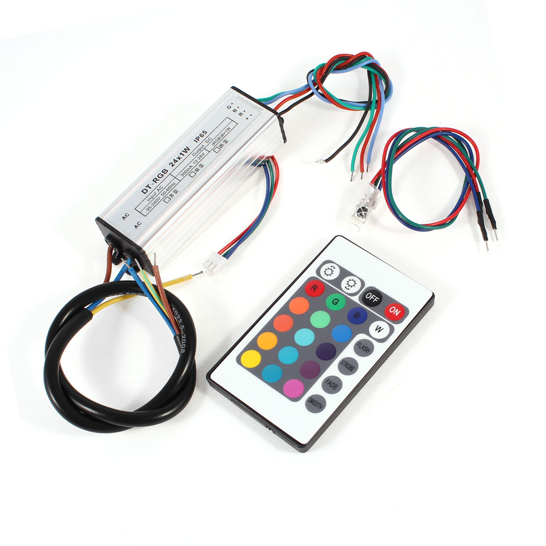 LED Driver Power Supply Transformer 24x1W with RGB Remote Control