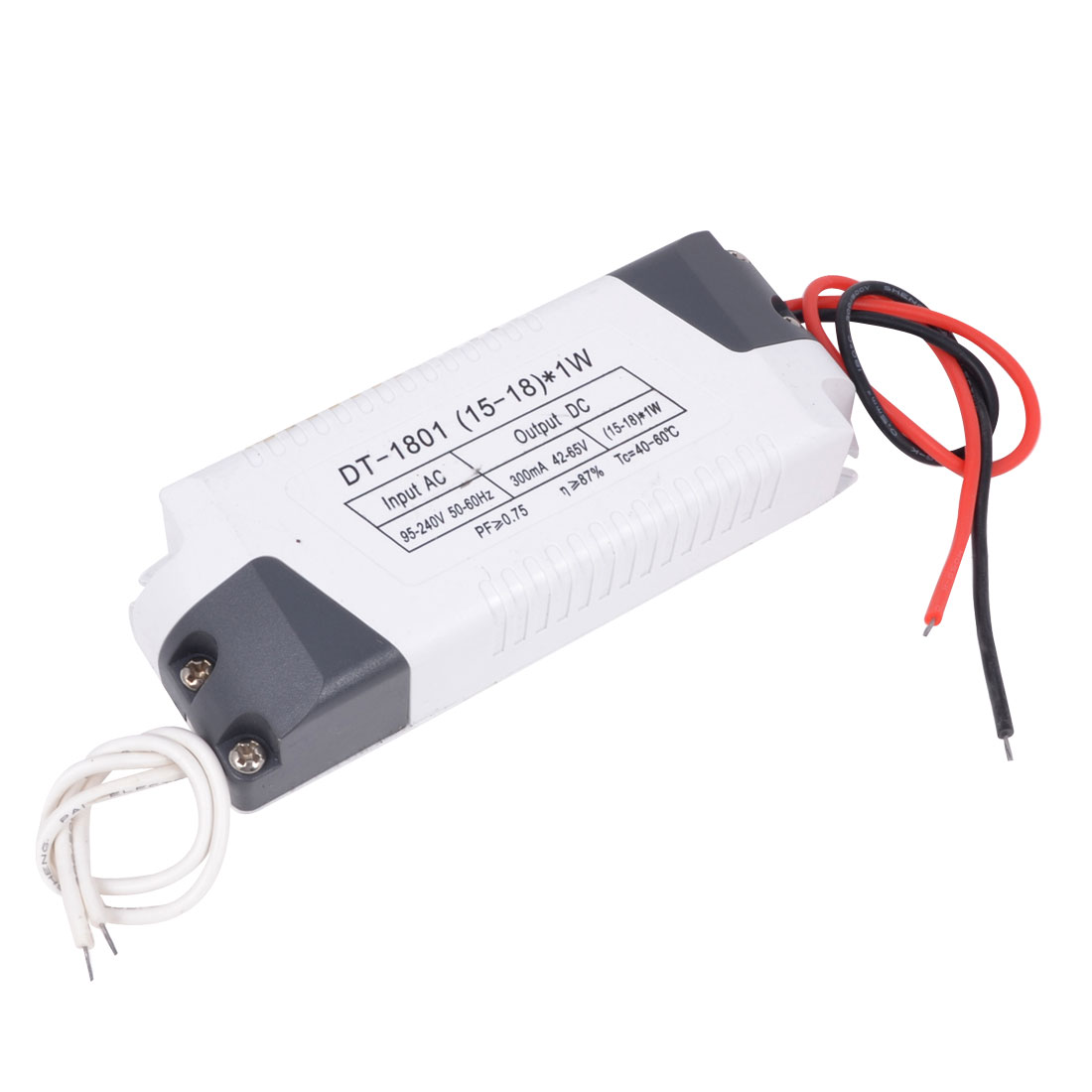 DC 42-65V (15-18)x1W LED Driver Circuit Transformer Power Supply