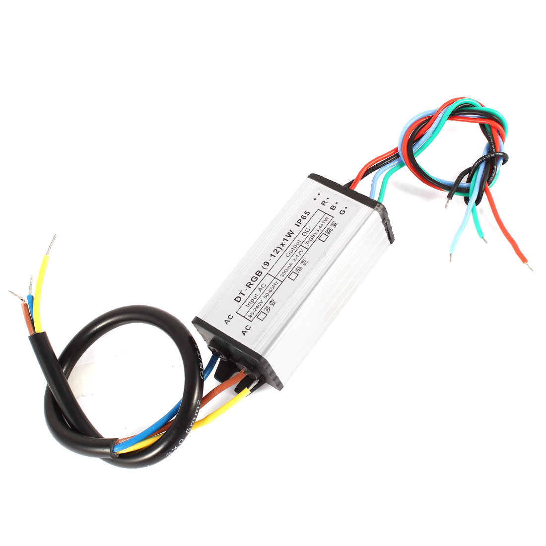 (9-12)x1W Waterproof LED Driver Transformer Power Supply for RGB Light Strip