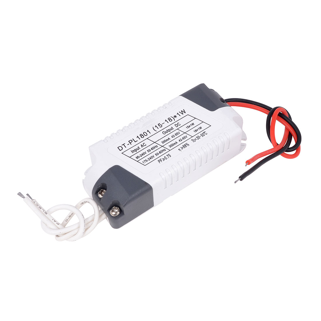(15-18)x1W Plastic LED Driver Circuit Transformer Power Supply
