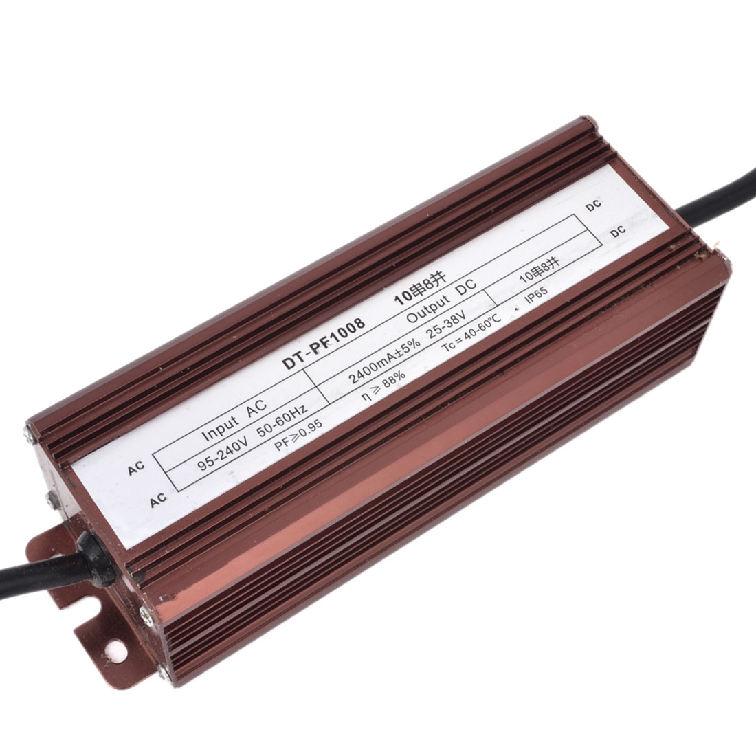 AC 95-240V to DC 25-38V Waterproof High Power LED Driver Transformer 80W