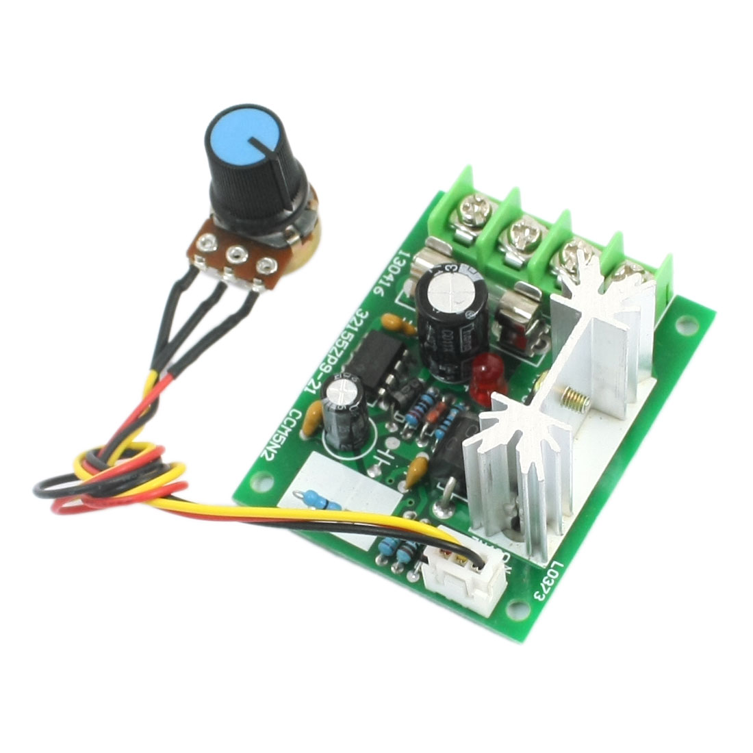 DC5-16V 200W B10K Potentiometer Adjustable Pulse Width Modulation PWM Motor Driver Speed Controller Module 8.3""