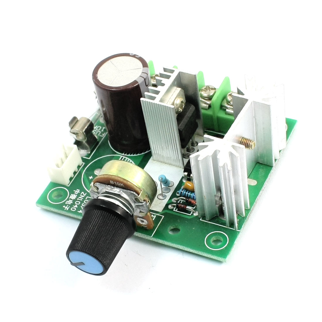 Pulse Width Modulation PWM Motor Speed Adjustable Controller Governor DC5-15V 200W w B10K Rotary Potentiometer