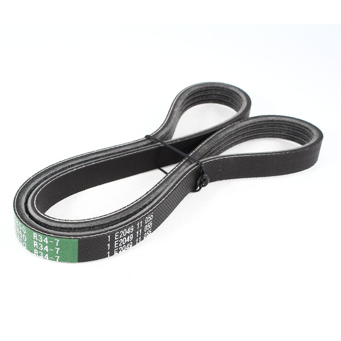 "Industry Black Girth 43.9"" Rubber Wedge Rope Band Vee Drive V Belt"