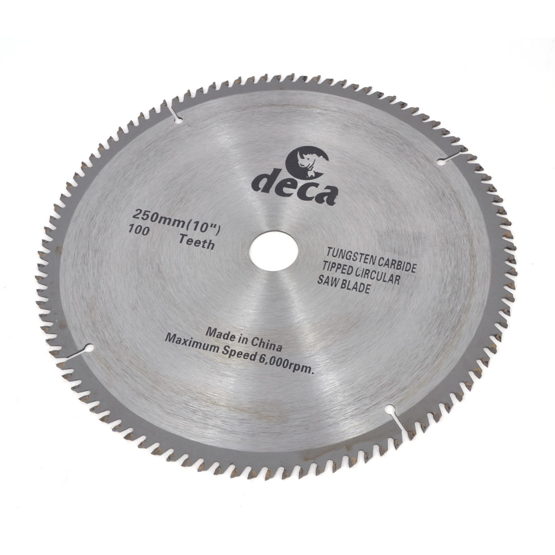 "Wood Cutting 6000PRM Speed 100 Teeth 10"" Diameter Saw Cutter"