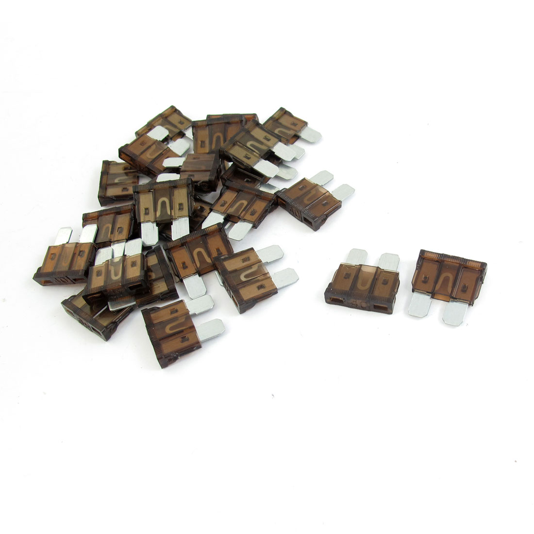 25 Pcs 40A Vehicle Automotive Car Truck SUV Blade Fuse Replacement Brown