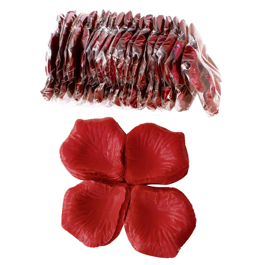 2000 Pcs Red Artificial Silk Flower Rose Petals Wedding Bridal Party Decorations
