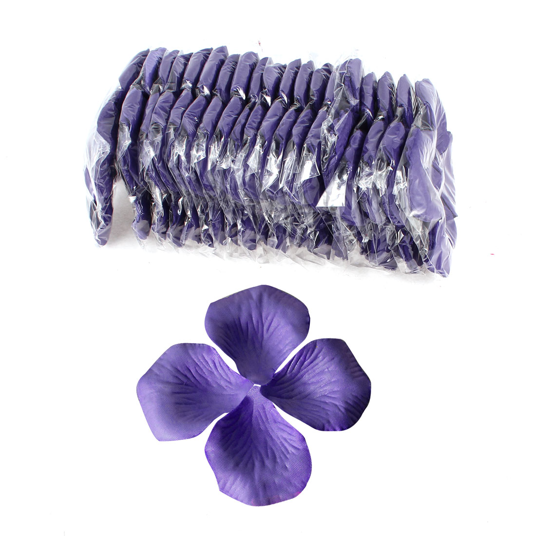 2000 Pcs Dark Purple Artificial Silk Flower Rose Petals Wedding Bridal Party Decorations