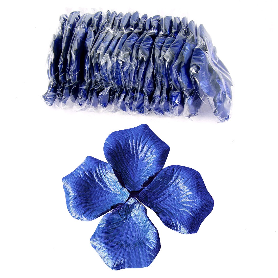 2000 Pcs Dark Blue Artificial Silk Flower Rose Petals Wedding Bridal Party Decorations