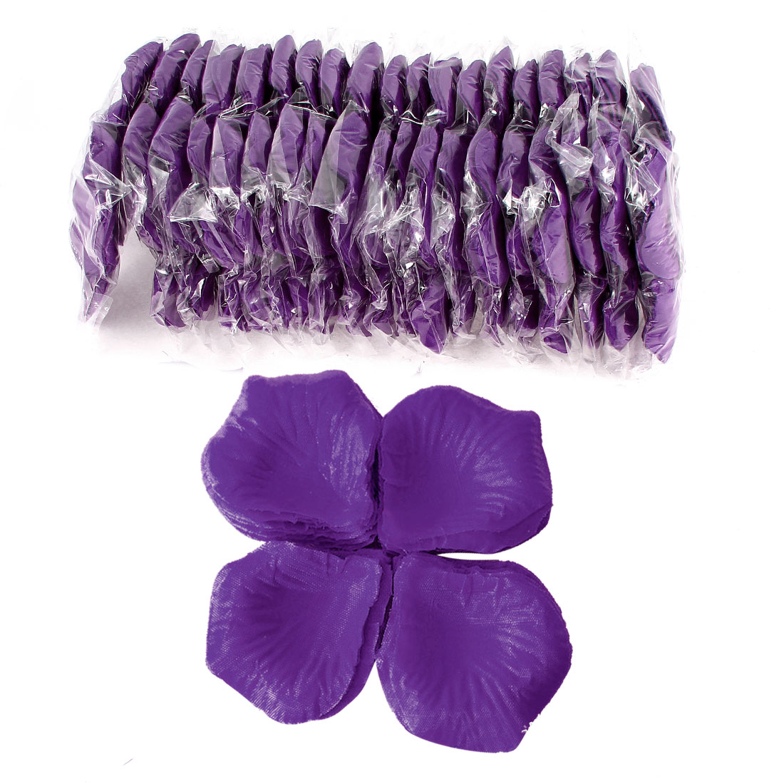2000 Pcs Purple Artificial Silk Flower Rose Petals Wedding Bridal Party Decorations